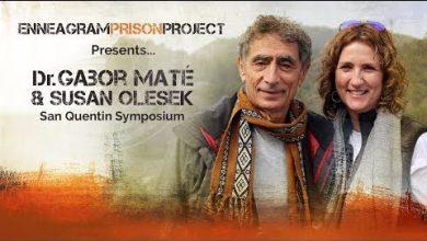 Photo of Dr. Gabor Maté and Susan Olesek: San Quentin Symposium