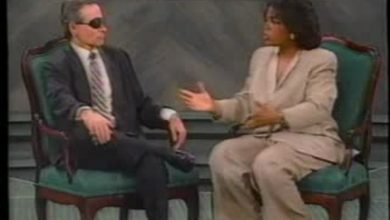 Photo of Andrew Vachss and Oprah Winfrey – A dialogue